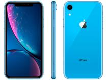 "iPhone XR Apple 256GB Azul 4G Tela 6,1"" Retina - Câmera 12MP + Selfie 7MP iOS 12 A12 Bionic Chip"