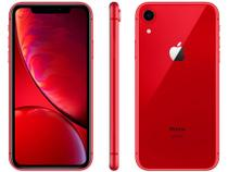 "iPhone XR Apple 256GB Product Red 4G Tela 6,1"" - Retina Câmera 12MP + Selfie 7MP iOS 12"