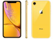 "iPhone XR Apple 64GB Amarelo 4G Tela 6,1"" Retina  - Câm. 12MP + Selfie 7MP iOS 12 Proc. Chip A12"