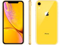 "iPhone XR Apple 64GB Amarelo 4G Tela 6,1"" Retina - Câmera 12MP + Selfie 7MP iOS 12 A12 Bionic Chip"