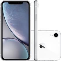 """IPhone XR Apple Branco 64GB Tela Liquid Retina 6.1"""" Câmera Traseira de 12MP MRY52BZ/A -"""