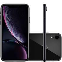 """IPhone XR Apple Preto 256GB Tela Liquid Retina 6.1"""" Câmera Traseira de 12MP MRYJ2BZ/A -"""