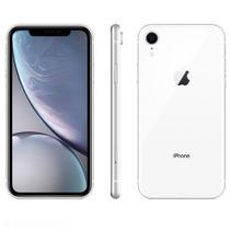 """iPhone XR Branco, com Tela de 6,1"""", 4G, 128 GB e Câmera de 12 MP  - MH7M3BR/A - Apple"""
