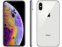 "iPhone XS Apple 256GB Prata 4G Tela 5,8"" Retina - Câmera Dupla 12MP + Selfie 7MP iOS 12"
