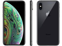 "iPhone XS Apple 64GB Cinza Espacial 4G Tela 5,8"" - Retina Câmera Dupla 12MP + Selfie 7MP iOS 12"