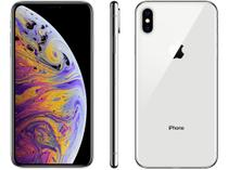 "iPhone XS Max Apple 256GB Prata 4G Tela 6,5"" - Retina Câmera Dupla 12MP + Selfie 7MP iOS 12"