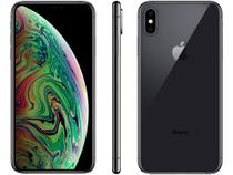 "iPhone XS Max Apple 64GB Cinza Espacial 4G - Tela 6,5"" Retina Câmera Dupla 12MP + Selfie 7MP"