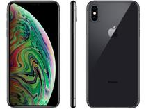 "iPhone XS Max -Apple- 64GB Cinza Espacial 4G Tela 6,5"" Retina - Câmera Dupla 12MP + Selfie"