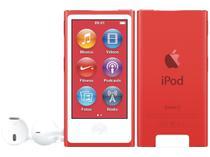 iPod Nano Apple 16GB Tela 2,5 Apple - Multi Touch, Rádio FM e Bluetooth Vermelho