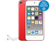 iPod Touch Apple 16GB Tela Multi-Touch Bluetooth - Câm. 5MP + Selfie Vermelho