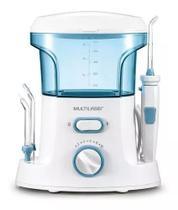Irrigador Oral Bucal Multilaser HC037 Com 7 Bicos 10 Níveis de Pressão Bivolt - Higienizador Limpeza -