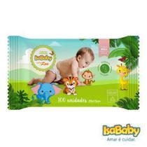 Isababy Toalha Umedecida Zoo C/ Etiqueta Rígida 24 Pacotes Com 100 Unidades -