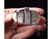 Isca artificial lambari articulado 6 segmentos p/ tucunaré t - M&C