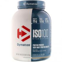 ISO 100 - 100% Hydrolyzed (2,3kg) - Cookies and Cream - Dymatize Nutrition -