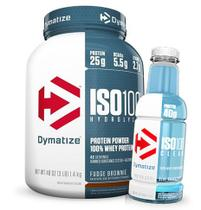 Iso 100 1,35 Kg + Iso 100 Clear RTD - Dymatize - Validade 07/17 -