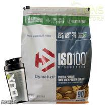 Iso 100 Hydrolized 6lbs 2,88kg Dynamitze + Coqueteleira - Dymatize