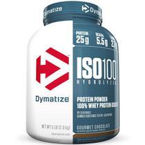 Iso 100 hydrolyzed (5lbs) - 2,3kg - dymatize -