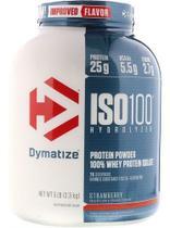 ISO 100 WHEY ISOLADO HYDROLYZED 2,3KG (5LBS) - DYMATIZEsabor morango -