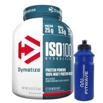 ISO 100 Whey Protein Isolado 100% Hidrolisado (2300g) Dymatize Nutrition -