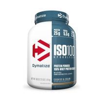 Iso 100 whey protein isolado hydrolyzed 1,4kg (3 lbs) - dymatize -