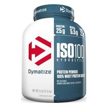 Iso 100 whey protein isolado hydrolyzed 2,3kg (5lb) - dymatize -