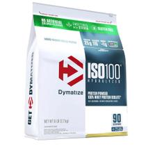 Iso 100 whey protein isolado hydrolyzed stevia 2,7kg (6lb) - dymatize -