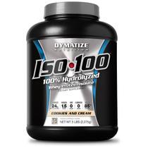 ISO 100 Whey Zero Carb - 5 Lbs - Dymatize Nutrition -