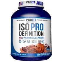 Iso Pro Definition 1,8kg - Chocolate - Profit - Whey Isolado -