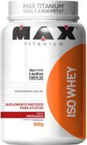 Iso Whey isolado 900g Max Titanium -