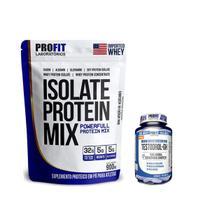 Isolate Protein Mix 900g + Testodrol-Gh 60 Tabs Profit - Profit Laboratório