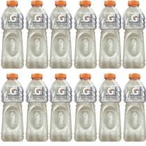 Isotônico Gatorade Limão 500ml - Kit 12 Unidades -