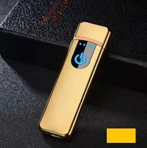 Isqueiro Eletrônico touchscreen Diversas Cores - Mb