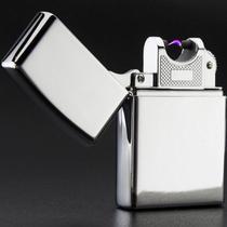 Isqueiro Plasma Laser Recarregável Prova Vento Estilo Zippo Usb - Wlxy
