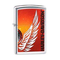 Isqueiro Zippo 28977 Harley-Davidson Wing Polido -