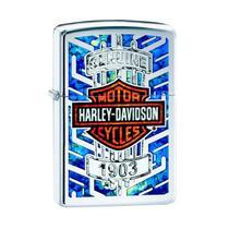 Isqueiro Zippo 29159 Harley-Davidson Fusion Polido -