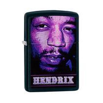 Isqueiro Zippo 29168 Classic Jimi Hendrix Preto -