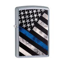 Isqueiro Zippo 29551 Classic Blue Line Flag Street -