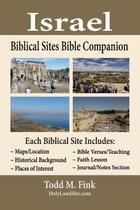 Israel Biblical Sites Bible Companion - Todd fink