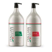 Itallian Collor Kit Shampoo E Condicionador De Lavatorio 2,5 Lt - Senscience