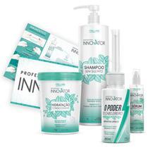 Itallian Hairtech Innovator Kit Profissional (4 Produtos) - Senscience