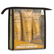 Itallian Hairtech Trivitt Kit Home Care (shampoo + Condicionador + Hidratação) -