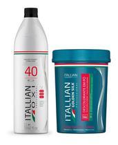 Itallian Oxi 40 1litro+ Pó Golden Silk Dust Free 500g -
