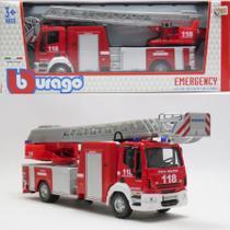 Iveco Magirus 150E28 - Caminhão dos Bombeiros - Emergency - 1/50 - Bburago -