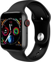 Iwo8 Smartwatch Relógio Inteligente Ios Android 44mm Bluetooth PRETO - Smartwatch Iwo8