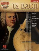 J.s. bach - mandolin play-along, v.4 - Hal Leonard Books -