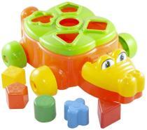 Jacare Junior Brinquedo Educativo - Laranjado TA TE TI INDUSTRIA E - Tateti