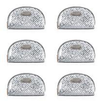 Jacki Design Abc17378-pt Necessaire Meia Lua Diamantes (Kit C/06) -