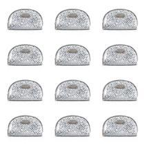 Jacki Design Abc17378-pt Necessaire Meia Lua Diamantes (Kit C/12) -