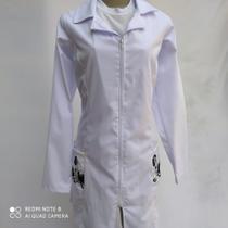 Jaleco Feminino Selenita Tamanho G, tecido com elastano para maior conforto - Mademoiselle  Mih