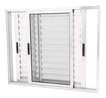 Janela De Aluminio Brilh. Veneziana 3f Móveis 100 X 120 L25 - Dc